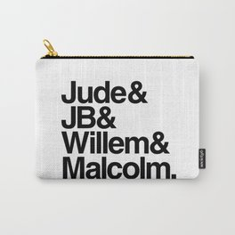 JB & Jude & Willem & Malcolm Carry-All Pouch