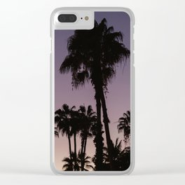 Dusk in Mexico Clear iPhone Case