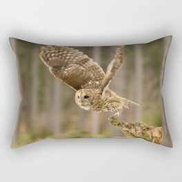 Tawny Takeoff Rectangular Pillow