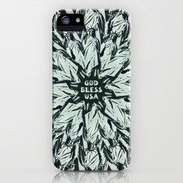 God Bless USA iPhone Case