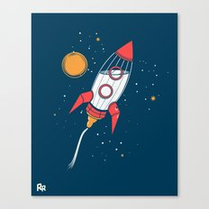 Bottle Rocket to the Milky Way Canvas Print