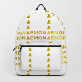 Lemon Backpack