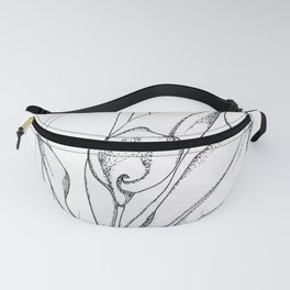 Calla Lily Point Fanny Pack