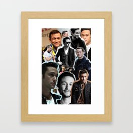 Joseph Gordon Levitt Framed Art Print