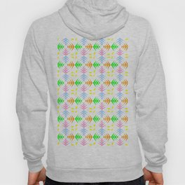 symmetric patterns 104 with a multicolor wheat pattern Hoody