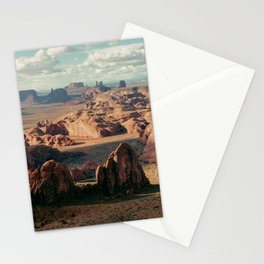 Monument Valley Overview Stationery Cards