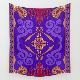 Aladdin Purple Magic Carpet Wall Tapestry