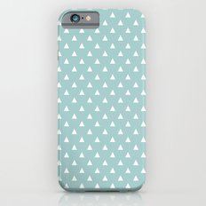 tiffany blue triangle pattern Slim Case iPhone 6s