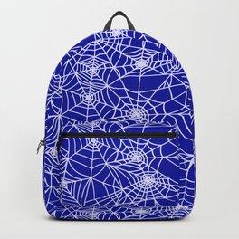 Royal Blue Cobwebs Backpack