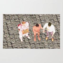 SquaRed: Three of Us Rug
