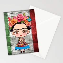 Frida Mexican Stationery Cards
