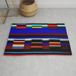 Multicolor Stripes Rug
