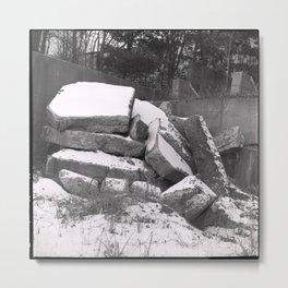 rubble Metal Print