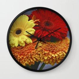 Colorful Germini Wall Clock