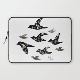 Patterned Birds Laptop Sleeve
