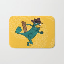 My Perry the Platypus Bath Mat