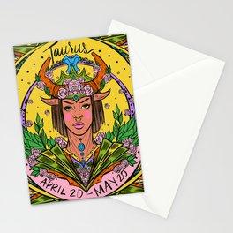 Zodiac: Taurus Stationery Cards