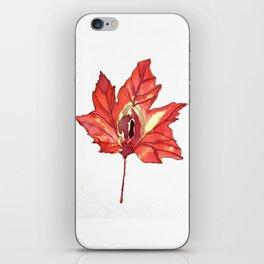 Vulvas in Nature: Maple iPhone Skin