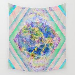 90 Degree Quantum Parallelogram Wall Tapestry
