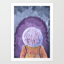 We Have a Problem Art Print