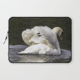 Shy Swan Laptop Sleeve