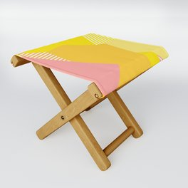 Peachy to the Max Folding Stool
