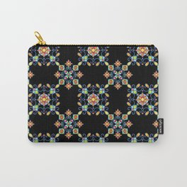Ornamental Filigree Carry-All Pouch
