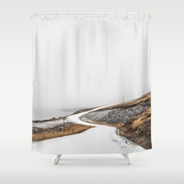 Roads Were Made For Journeys II Shower Curtain