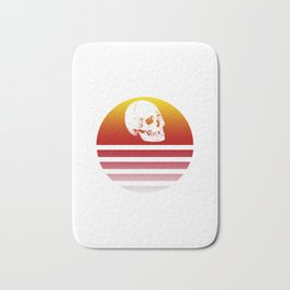Retro Design Skull #2 Bath Mat