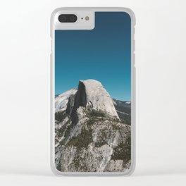 Glacier Point, Yosemite National Park V Clear iPhone Case