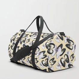 Unio Crassus Pattern in Beige Duffle Bag