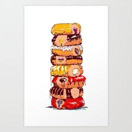 8-bitten Art Print
