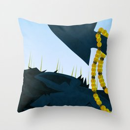 Wagner's Tail Throw Pillow