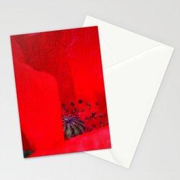 poppy inside Stationery Cards