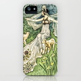Fairy in the Meadow iPhone Case