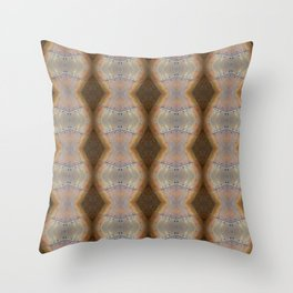 Whats inside the rosty cocoon Throw Pillow