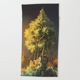 Second Life Beach Towel