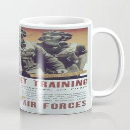 Vintage poster - Aviation Cadet Training Coffee Mug