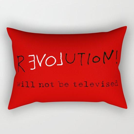 re-love-ution Rectangular Pillow