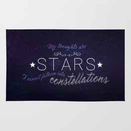 My Thoughts Are Stars - TFIOS Rug