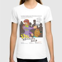 monster inc T-shirts featuring Mystery Inc. (Die Monster Die! Variant) by Winged Bomb