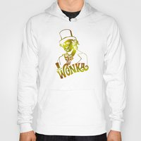 willy wonka Hoodies featuring W gold by Buby87