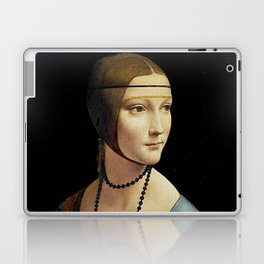 THE LADY WITH AN ERMINE - DA VINCI Laptop & iPad Skin