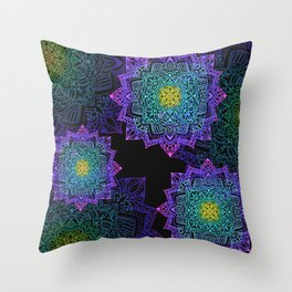 Galaxy of Love Throw Pillow