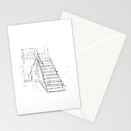 Sketch of interior of Studio Stationery Cards