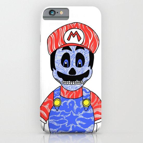 Blue Mario iPhone & iPod Case
