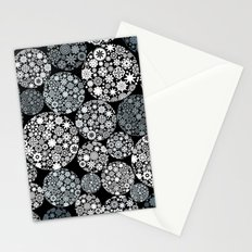 Snow flowers. Stationery Cards