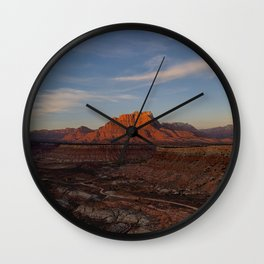 Sunset Ridge - iPhone-Photo, #sunset Wall Clock