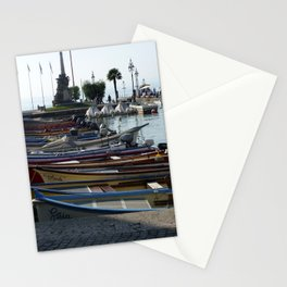 Lazise Harbour Stationery Cards