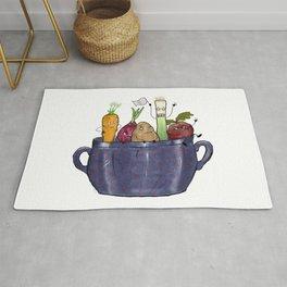 Vegetable Soup Rug